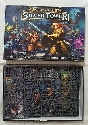 Games Workshop Warhammer quest silver tower incomplete AOS