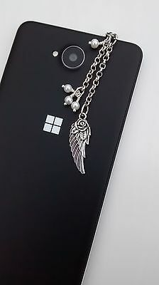 Dust Plug, Angel Wing Dangle Charm For Mobile Phone, Tablet, iPad, iPhone