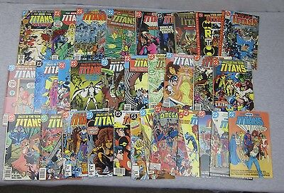 DC lot of 31 The new Teen Titans & Tales of Comic Book 12 25 26 33 35 38 50 60