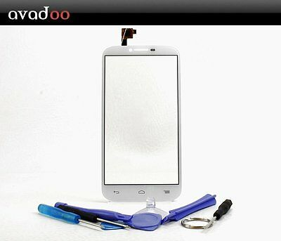 avadoo® Alcatel One Touch Pop C9 Displayglas Weiß inklusive Werkzeugset!!!