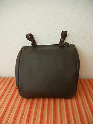 Vintage 1913 Swiss Army Military leather bread bag Switzerland WW1 Real Rarity