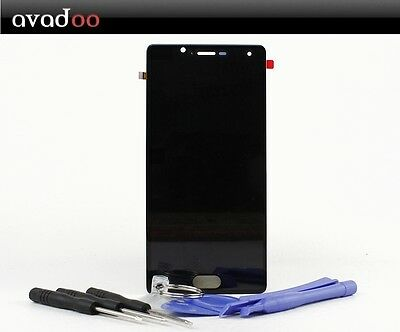 avadoo® Wiko U Feel LCD Display Schwarz Reparaturglas Touch Screen + Werkzeug
