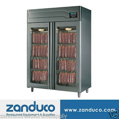 Stagionello 100 + 100 kg Curing Cabinet with ClimaTouch & Fumotic