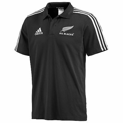 Polo Nouvelle Zelande Rugby Neuf Taille M-L-XL Shirt Maillot ALL BLACK ref16