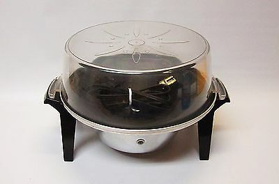 Vintage Mirro-Matic Pop N Serve Electric Popcorn Popper M-0347-50
