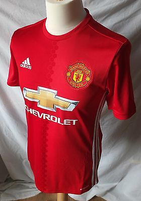 Brand New Genuine Manchester United 2016/17 Home Shirt - Mens Adults S M L XXL