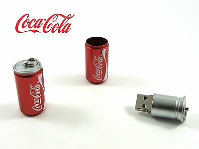 Pen drive  USB Flash Drive 16GB  LATA COCA COLA