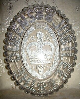 Queen Victoria 50 Year Jubilee Bowl dated 1837 to 1887, a Historical Celebration