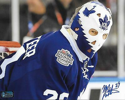 """Mike Palmateer Toronto Maple Leafs Autographed 8"""" x 10"""" Photograph 2 - (WC 2017)"""