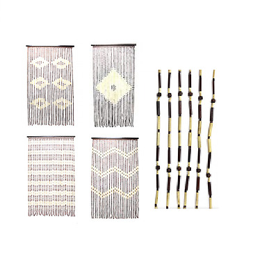 Beaded Door Curtain Beads Stops Fly Bug Screen Fits all Standard Doors