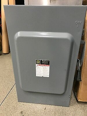 Square D Du324 200 Amp 240V  Non Fused Indoor Disconnect Safety Switch