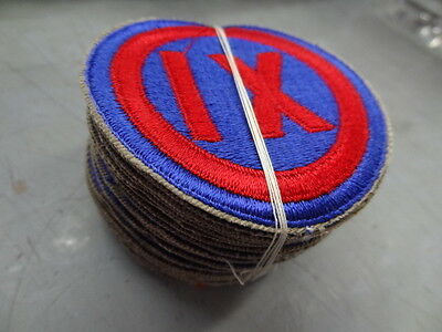 Dealer's Lot Of 20 Ww2 U.s. Army 9Th Corps Patches  #usp738