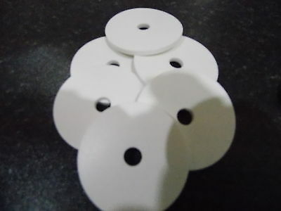 White Silicone Washers 48mm . 28mm and 20mm available