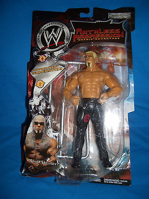 WWE Ruthless Aggression Series 2 Scott Steiner Wrestling Figure Jakks not mattel