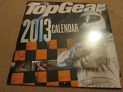Top Gear 2013 Official Calender   NEW
