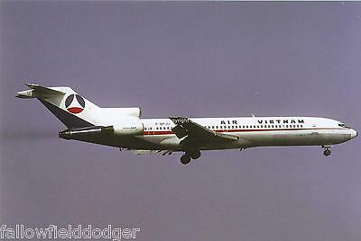 Air Vietnam Boeing 727-212 F-BPJU Aviation Postcard