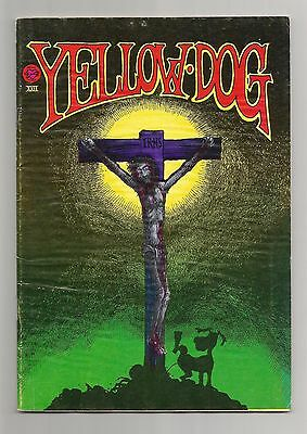 YELLOW DOG  #22 1st Print 1972, Print Mint Underground Comix, Greg Irons Cover