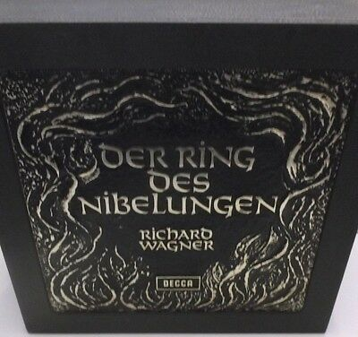 Decca Ring 1-22 Wagner Der Ring Des Nibelungen Ring Cycle VPO Solti 22LP Box Set