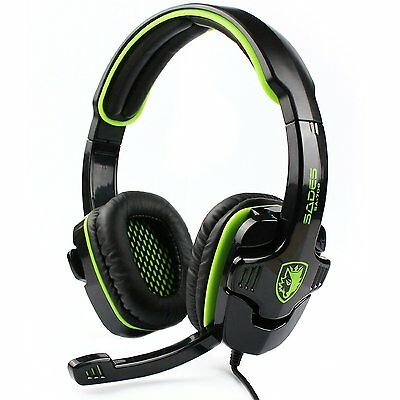 SADES SA708 Wired 3.5 mm Audio Plug Gaming Headset Headphones with Microphone