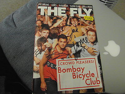 Signed Bombay Bicycle Club The Fly Magazine