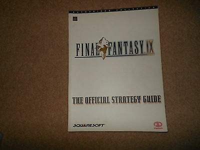 Final Fantasy 9 IX - STRATEGY GUIDE PS1 PLAYSTATION 1