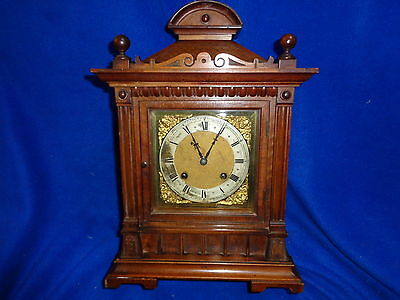 Fine Quality Antique Striking Mantle / Bracket Clock - Probably German