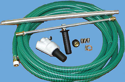 """Deluxe Industrial Wet Sandblaster With 18"""" Wand And Side Handle"""