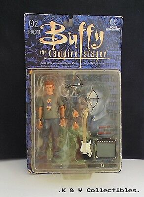 Oz from Buffy the Vampire Slayer Figure by Moore Action Collectibles GC & CHECKE