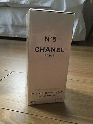Chanel No 5 Intense Bath Oil 250 ml New in Box