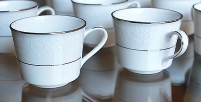 Espresso Cups and Saucers Set of 4 Noritake Tahoe 2585