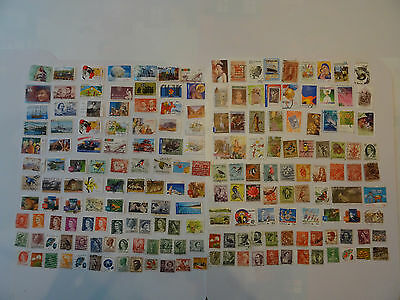 Stamps Australia  180 All Different / Mixture / Collection     Australian