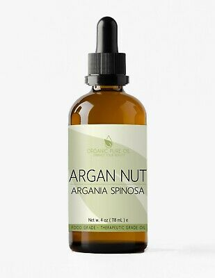 Moroccan ARGAN OIL Cold Pressed, Pure, Unrefined Argan Oil for Hair and Skin