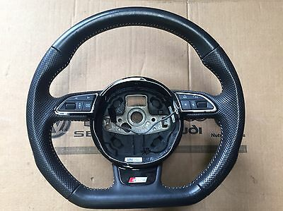 Audi A1 A3 A5 A6 S Line Sline Flat Bottom Steering Wheel Caddy Transporter