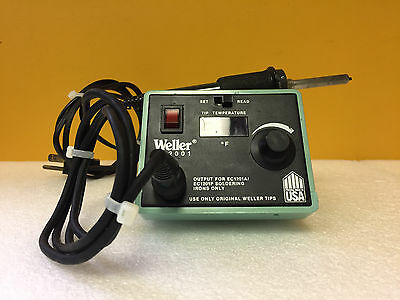 Weller / Cooper Tools EC2001 EC2002 Soldering Station + EC1201A Iron. Tested!