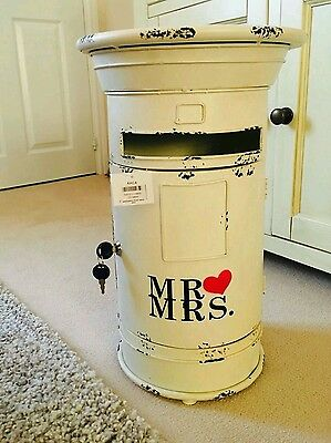 Wedding Card Post Box For Hire Only Birmingham Metal Lockable