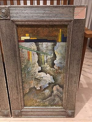 ORIGINAL OIL ON CANVASS PAINTING FRAMED, SIGNED, 80 by 50cm