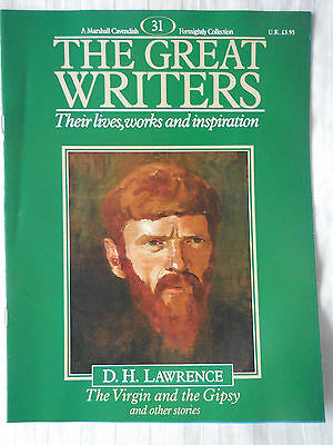 Marshall Cavendish Great Writers Magazine 31 D H Lawrence - The Virgin and Gipsy