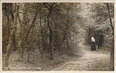 Rare R/p Postcard - In The Woods Sutton Park Sutton Coldfield Warwickshire C1912
