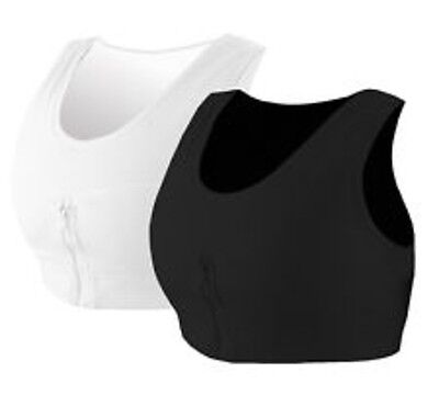 Anti-Bounce Sports Bra For Horse Riding All Sizes Black/ White Worldwide Ship