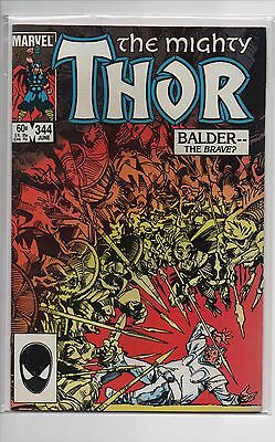 Thor #344 - 1st appearance of Malekith