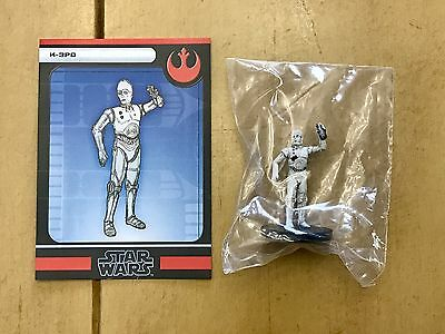 K-3P0 - Star Wars Miniatures - 12/60 - The Force Unleashed NEW