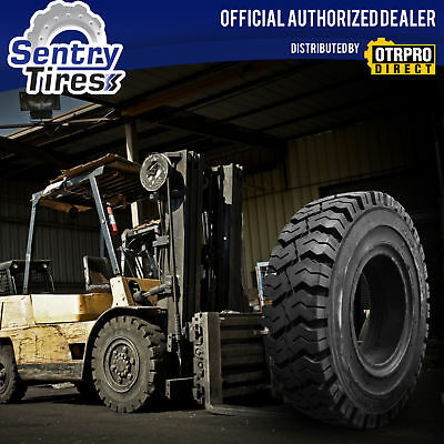 7.00-12 Sentry Tire Solid Forklift Tires (2 Tires) K Pat. 7.00x12 700x12 700-12