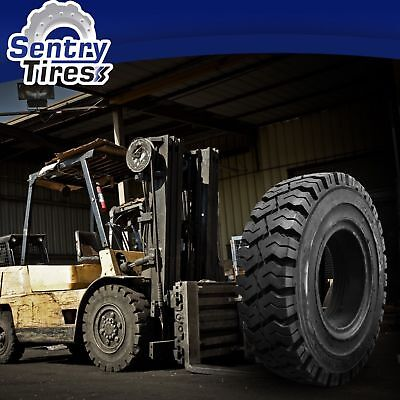 5.00-8 Sentry Tire Solid Forklift Tires (2 Tires) SD Pat. 5.00x8 500-8 500x8