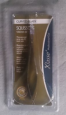 Squissors 125mm (5in) Klasse - curved blade snips for sewing and embroidery work