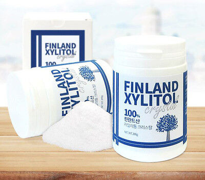 Pure Finland Xylitol Crystal Powder Natural Sweetener Sugar Substitute 200g