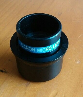 CANON MICRO B03 ZOOM LENS for MICROFILM and MICROFICHE READERS