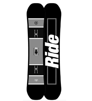 Ride Crook Wide Mens 2017 Snowboard Board Snow Free Delivery Australia