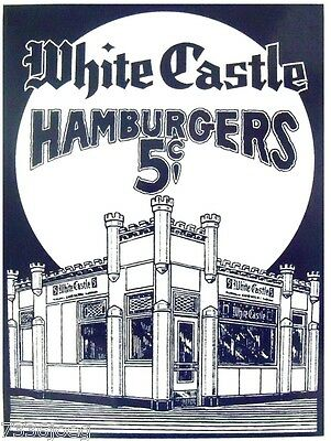 White Castle Dairy Queen Vintage advertising ads  on Custom Tee shirts Moon Pie.