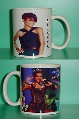 RIHANNA - with 2 Photos - Designer Collectible GIFT Mug