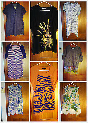 Bundle of 8 Pieces Maternity Tunic Size10-12